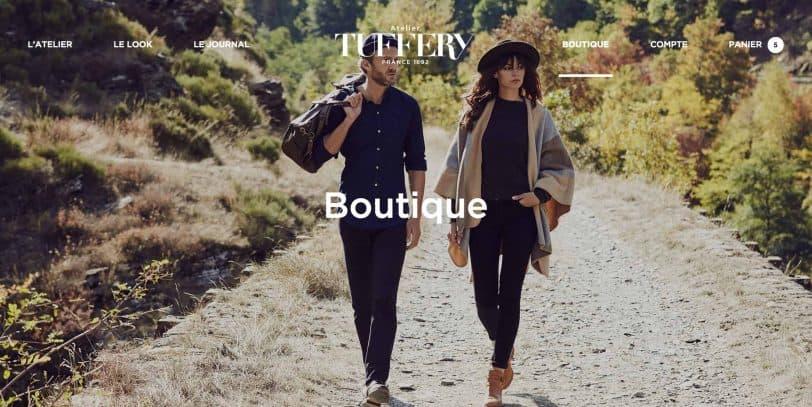 Projet - Atelier TUFFERY, fabricant de jeans français